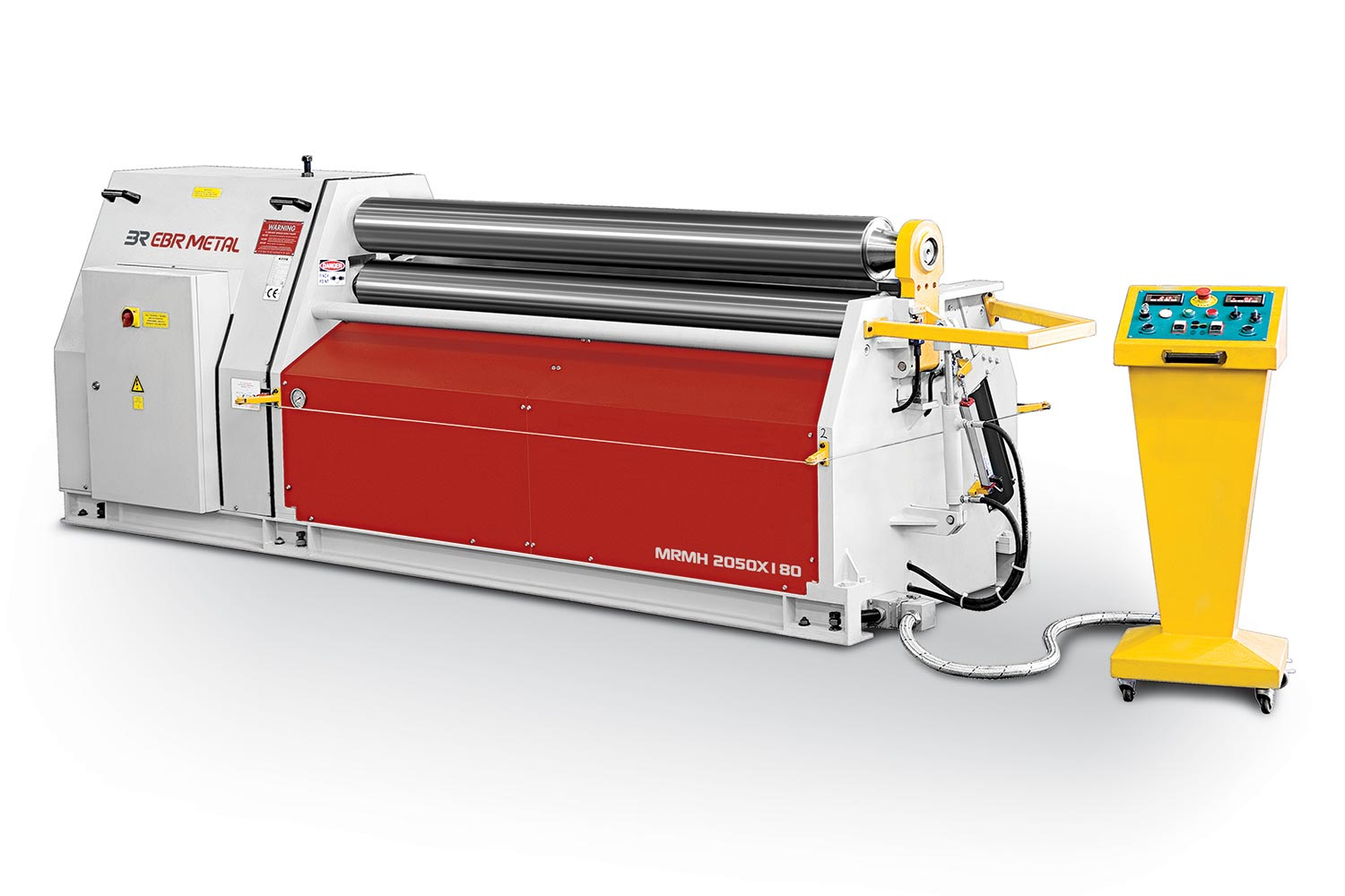 3 Rolls Hydraulic Plate Bending Machines Overview
