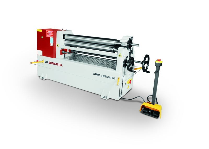 3 Rolls Mechanical Plate Bending Machines MRM 1550