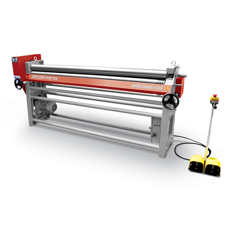3 Rolls Mechanical Plate Bending Machines MSM Overview