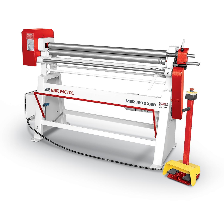 3 Rolls Mechanical Plate Bending Machines MSR Overview