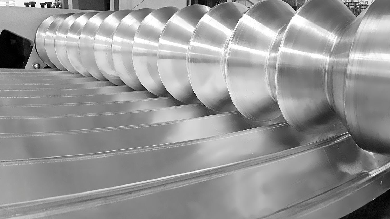 4 Rolls Hydraulic Plate Bending Machines Slider