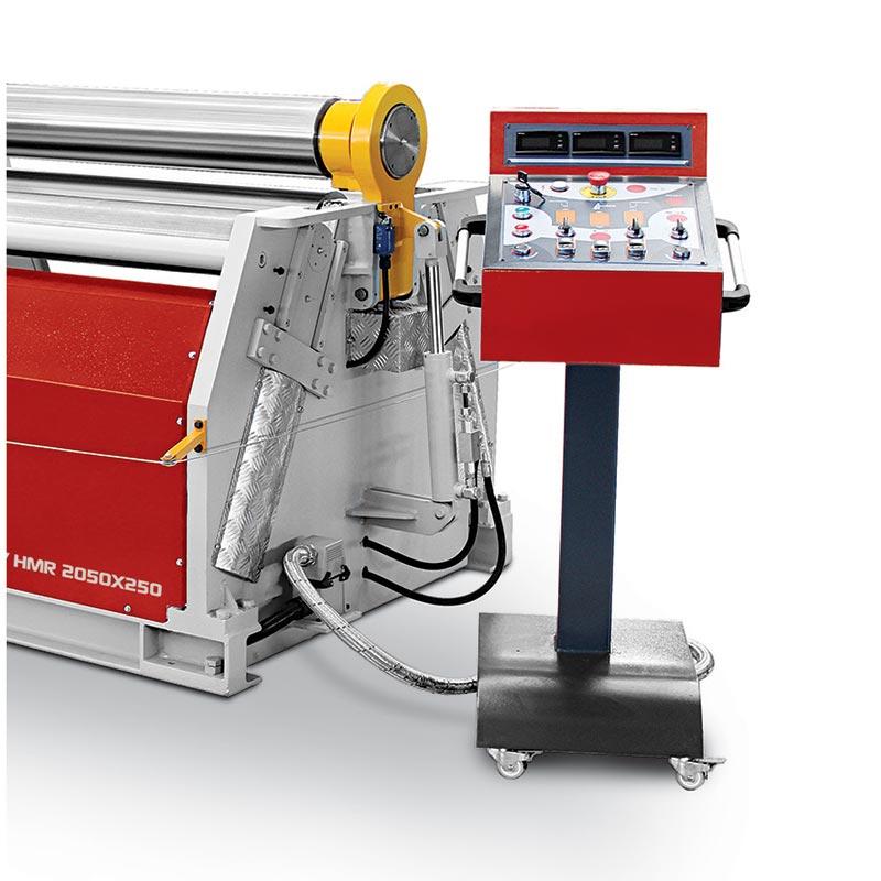4 Rolls Hydraulic Plate Bending Machines detail