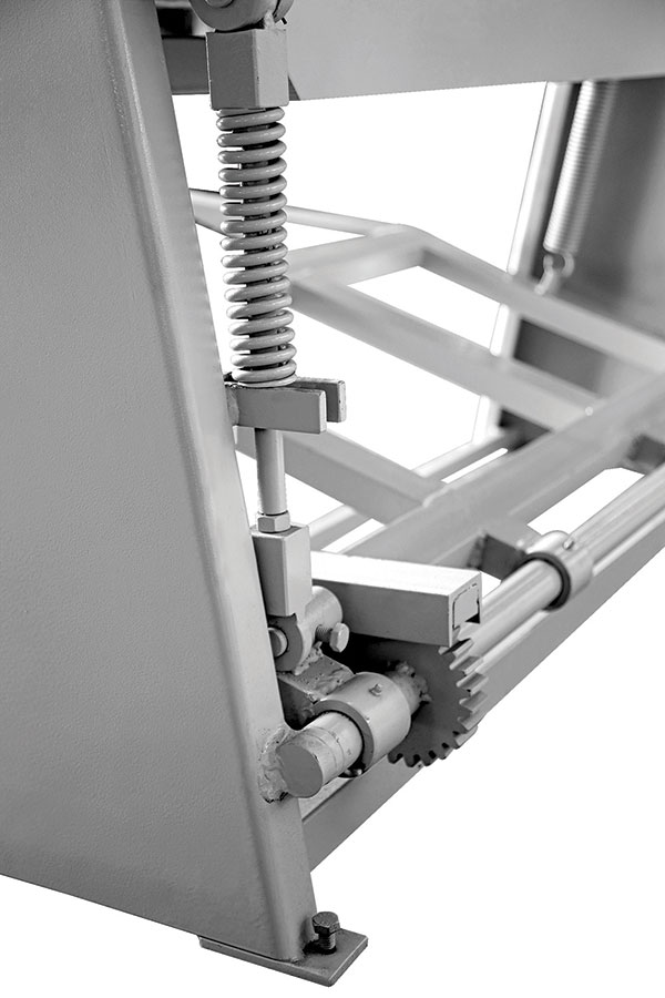 Guillotine Shears with Foot Pedal Details
