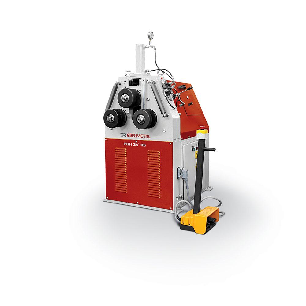 Hydraulic Pipe Bending Machines : Hydralic section and pipe bending machines pyramid type