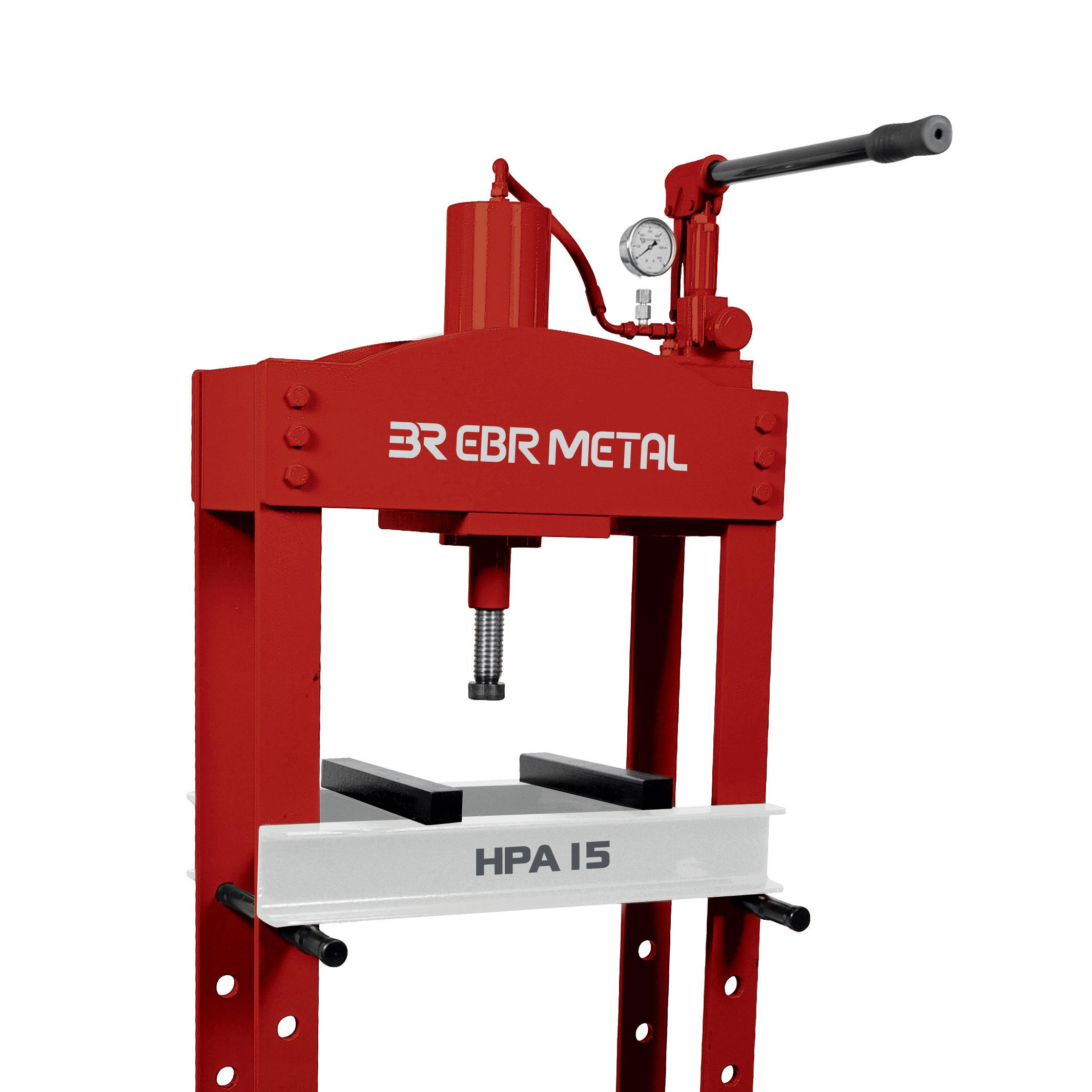 Hydraulic Workshop Press HPA 15 Detail