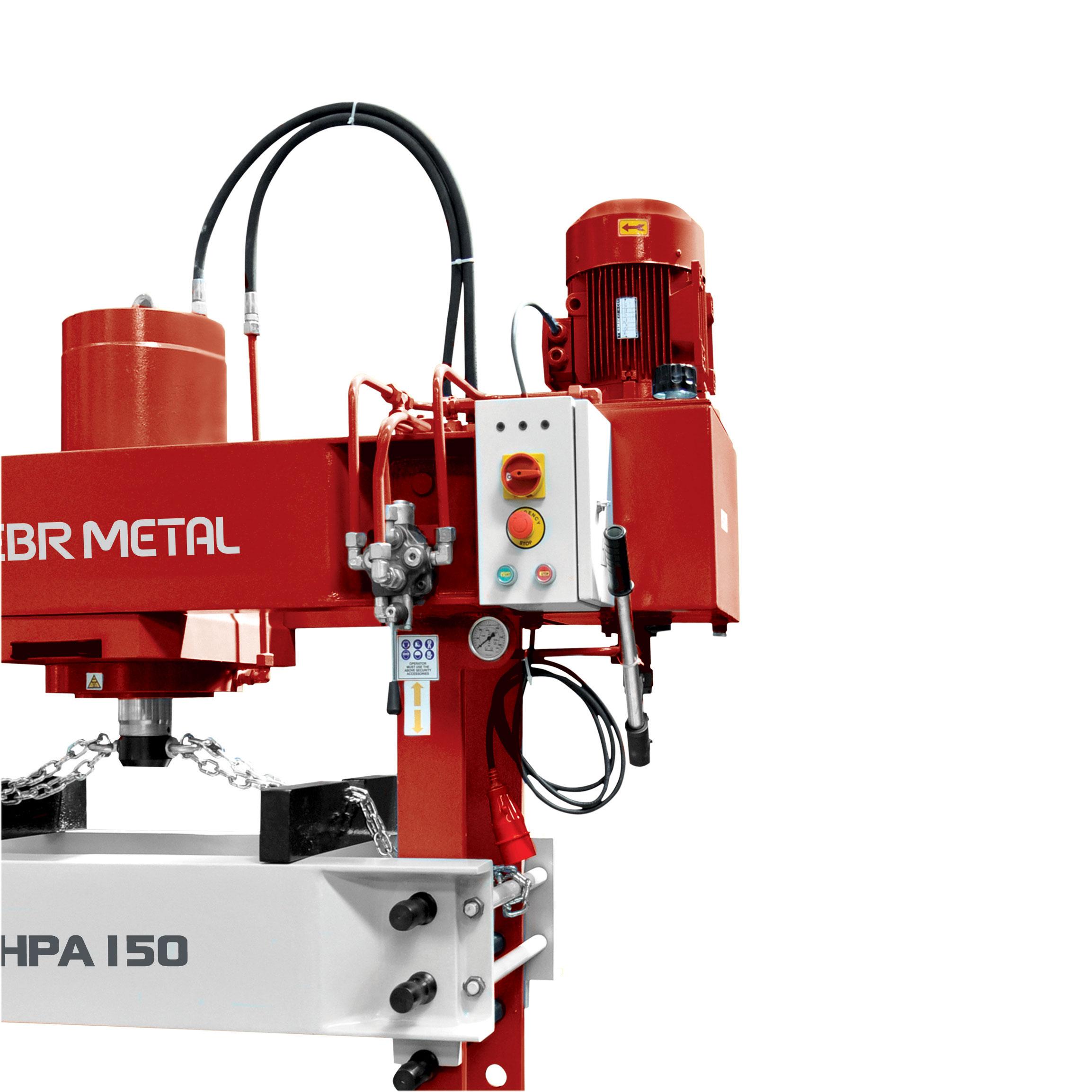 Hydraulic Workshop Press HPA 150 Detail