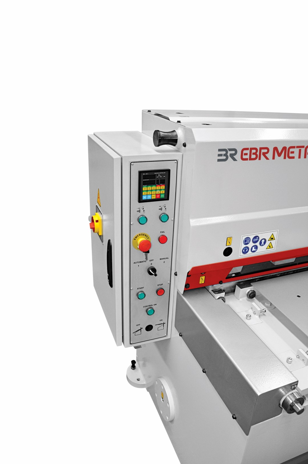Direct Gear Motorized Guillotine Control Panel
